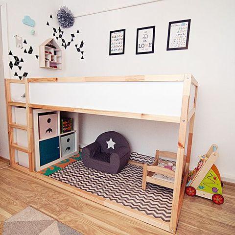 40 Cool IKEA Kura Bunk Bed Hacks   ComfyDwelling.com   Small kids .