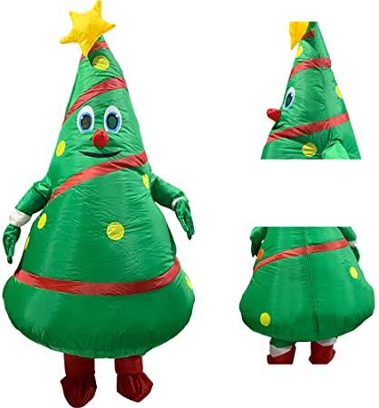 Amazon.com: Inflatable Christmas Tree Costume,Christmas Inflatable .