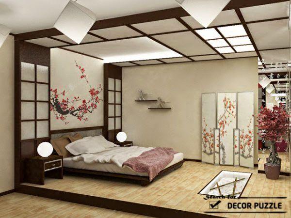 Japanese-interior-design-bedroom-ceiling-lights.jpg (600×450 .
