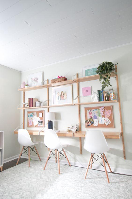 32 Amazing Study Desk Ideas for Kids Room - Kids Room Ide