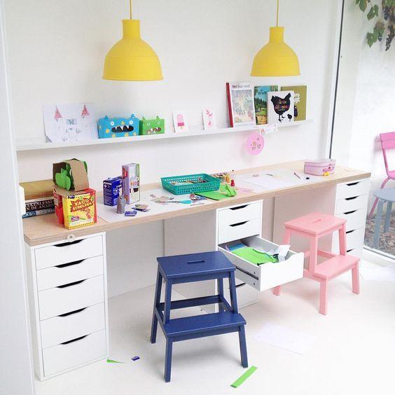 Ikea kids desk hack: | Ikea kids desk, Kids' desk, Kids room .