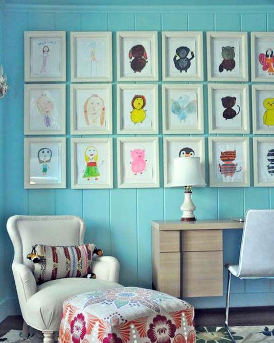 25 Cute DIY Wall Art Ideas for Kids Room | Girls room diy, Frame .