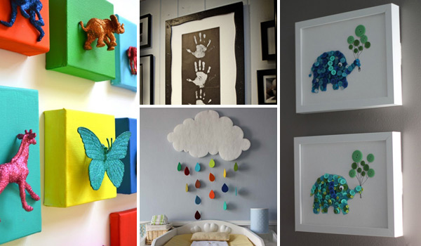 Top 28 Most Adorable DIY Wall Art Projects For Kids Room - Amazing .
