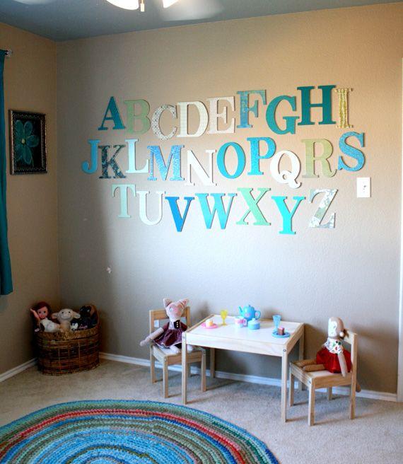 25 Cute DIY Wall Art Ideas for Kids Room | Kid room decor, Kids .