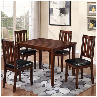 5-Piece Pub Dining Set | Dining room sets, Kitchen table settings .