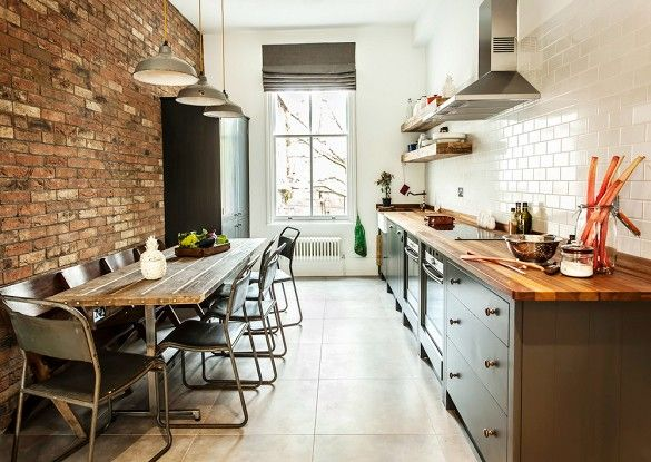 20 Galley Kitchens That Maximize Space and Style | Industrial .