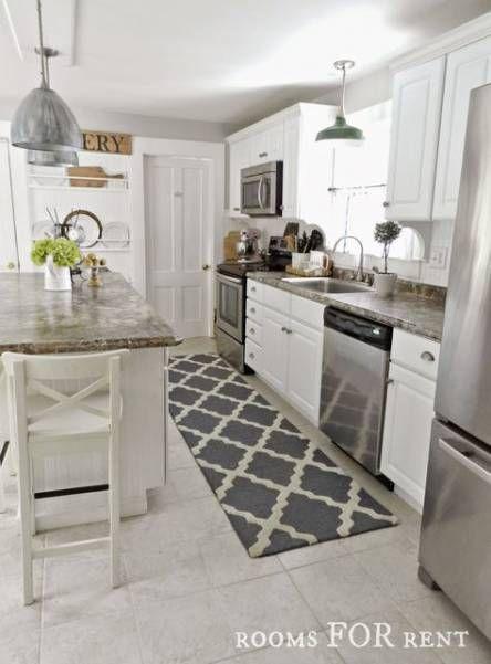 Kitchen Floor Mat Lights 29 Ideas | Kitchen flooring, Kitchen .
