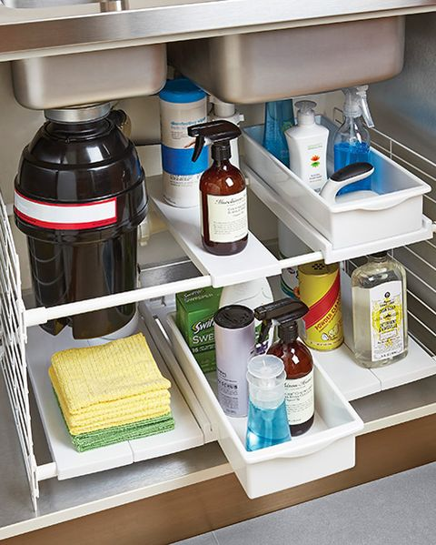 15 Best Under Sink Organizers for Bathrooms and Kitchens - Easy .