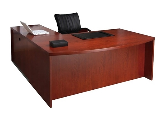 MEL5 L Shaped Executive Desk by Mayli