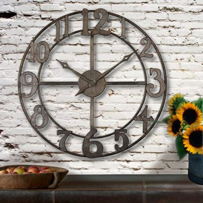 Large Decorative Wall Clocks For Sale
