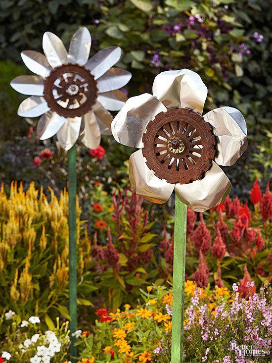 Easy Garden Accents to Make Yourself | Diy garden, Garden art .