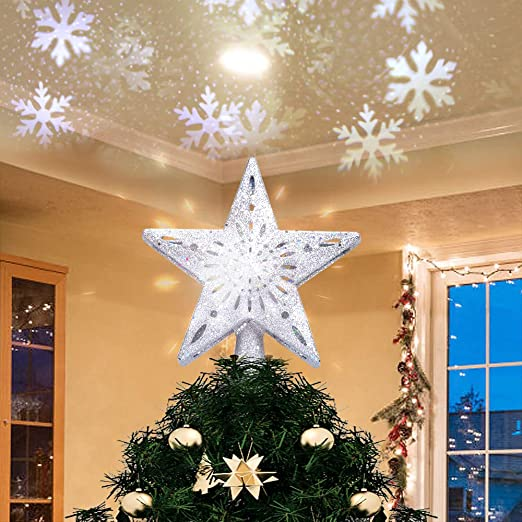 Amazon.com: Yostyle Christmas Tree Topper Lighted with LED .