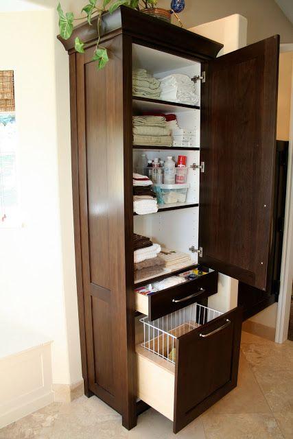 design dump: master bath-after | Bathroom storage tower, Bathroom .