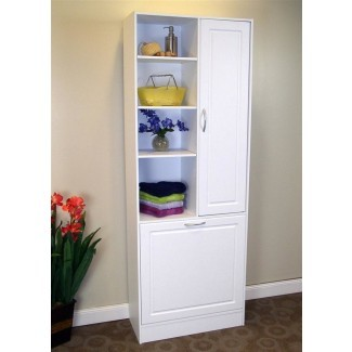 50+ Linen Cabinet with Hamper You'll Love in 2020 - Visual Hu