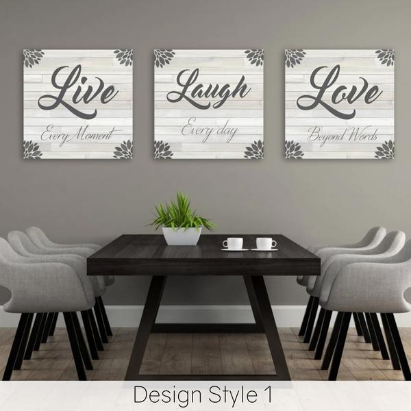 Live Laugh Love Wall Decor | Home Dec