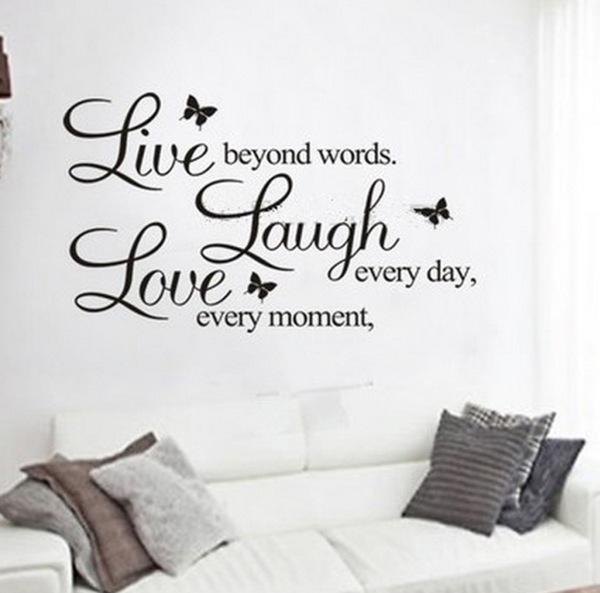 Live, Laugh, Love Wall Decoration – Cotton And G