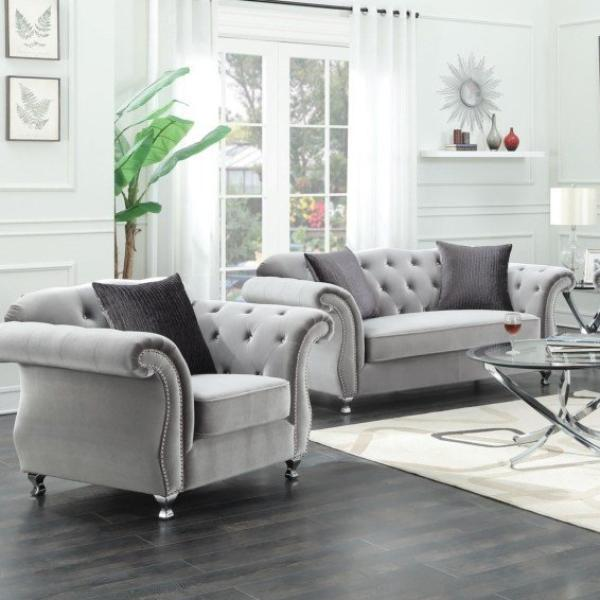 Frostine Living Room Set– Adams Furnitu