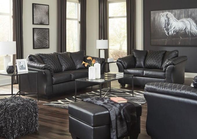 Betrillo Black Living Room Set from Ashley | Coleman Furnitu