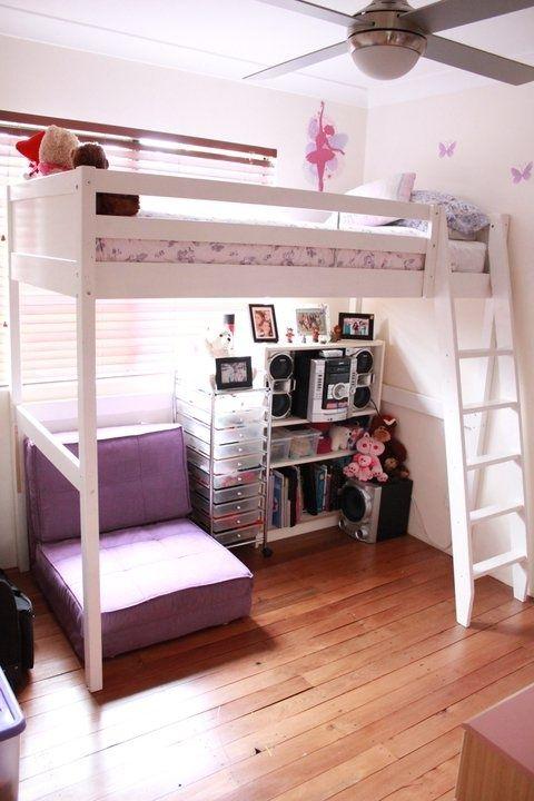 IKEA white loft bed ikea loft bed ideas Pinterest | Ikea loft bed .