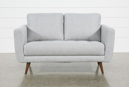 "Ginger Grey 60"" Loveseat 