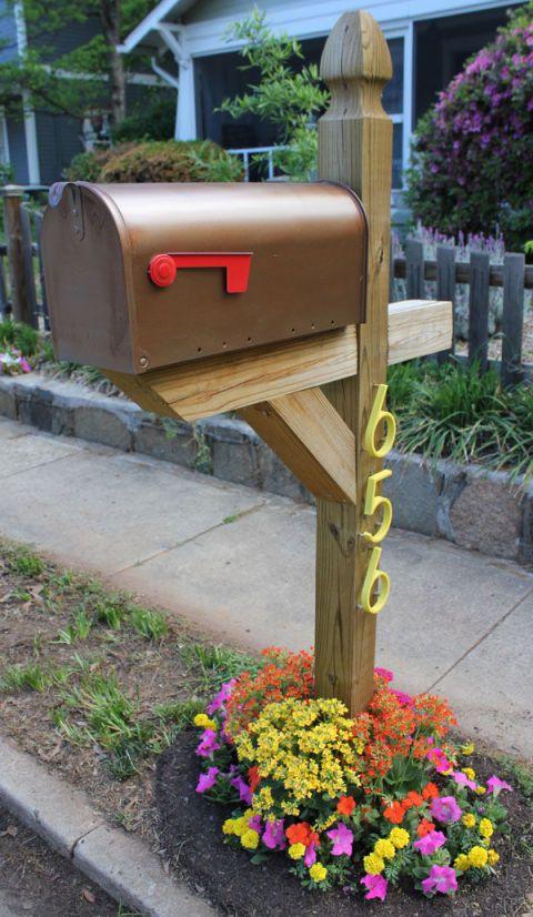 8 Easy DIY Mailbox Designs - Decorative Mailbox Ide