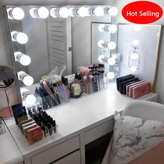 China Hollywood Light Makeup Vanity Mirror Dressing Table Mirror .