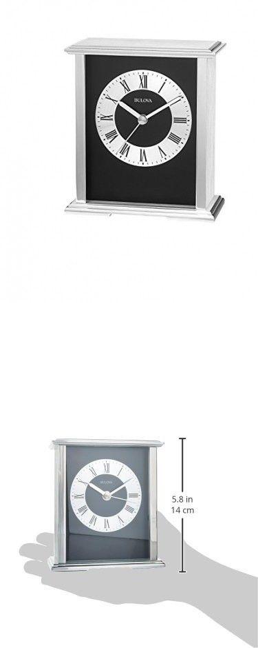Bulova Baron Mantel/Tabletop Clock | Tabletop clocks, Clock, Table t