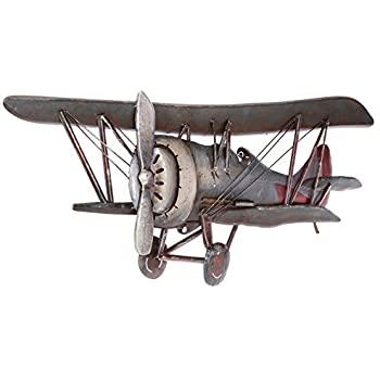 Amazon.com: Vintage Airplane Metal Wall Art Vintage Galvanized .