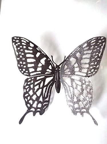 Amazon.com: Lanna Siam 1 PC Metal Butterfly Wall Art Home .