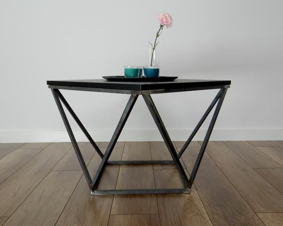 Steel Coffee Table Base 55x55cm. Modern Coffee Table Legs. | Et