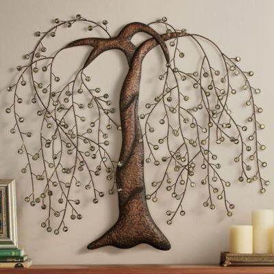 Willow Tree from Seventh Avenue ® | Metal tree wall art, Tree wall .