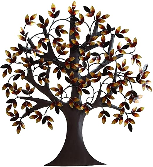 "Amazon.com: Deco 79 13862 Metal Tree Wall Decor 32""H, 31""W: Home ."