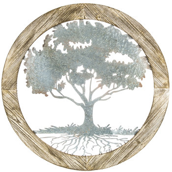 Round Tree Metal Wall Decor | Hobby Lobby | 11203
