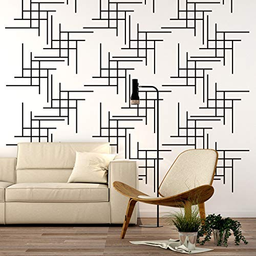 Amazon.com: Retro Wall Decal, Mid Century Modern Wall Decor .