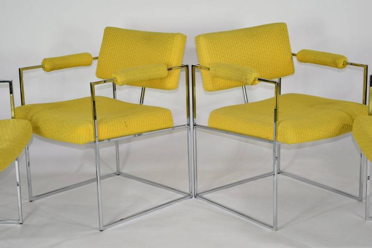 Set of Four Milo Baughman 1188 Lounge or Dining Chairs For Sale at .