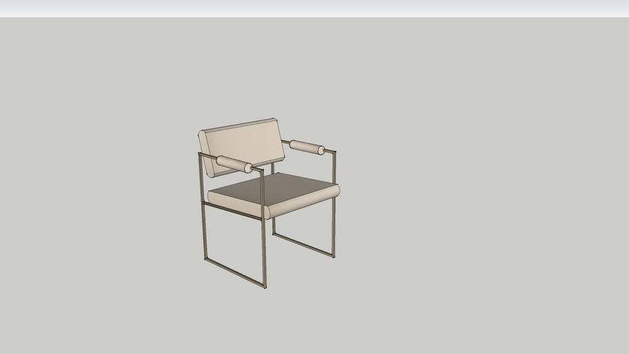 Milo Baughman 1188 Chair   3D Warehou