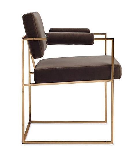 MILO BAUGHMAN, 1188 dining chair, originally designed in 1968. A .