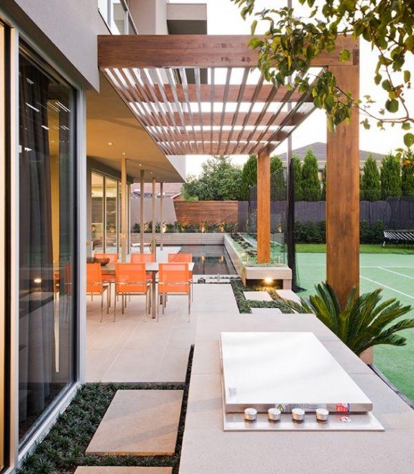 Modern Pergolas - Modern Pergolas Uk With Modern Pergolas Miami .