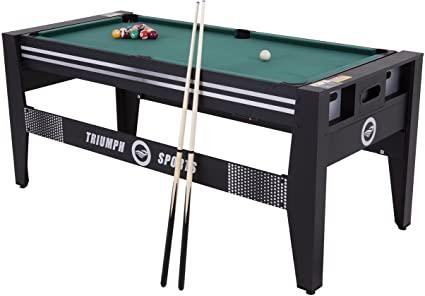"""Amazon.com : Triumph 72"""" 4 in 1 Multi-Game Swivel Table ."""
