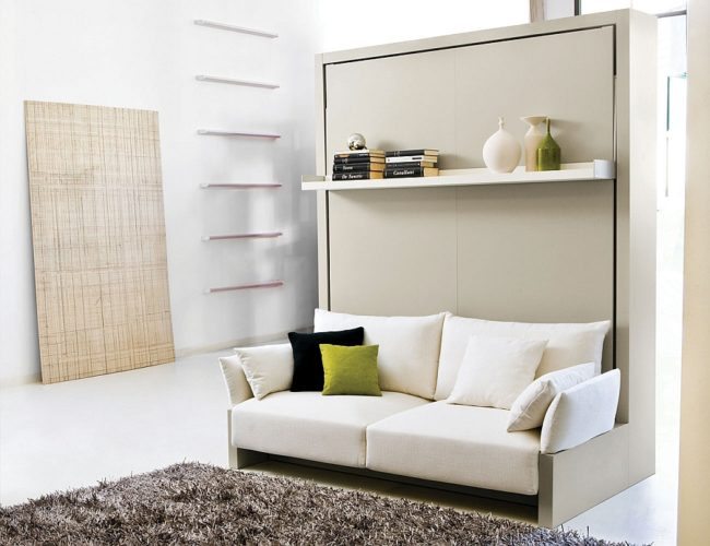 10 Innovatively New Wall Bed and Sofa Ideas | Inhabit Blog – Green .