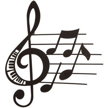 Black Music Note Metal Wall Decor | Hobby Lobby | 12963
