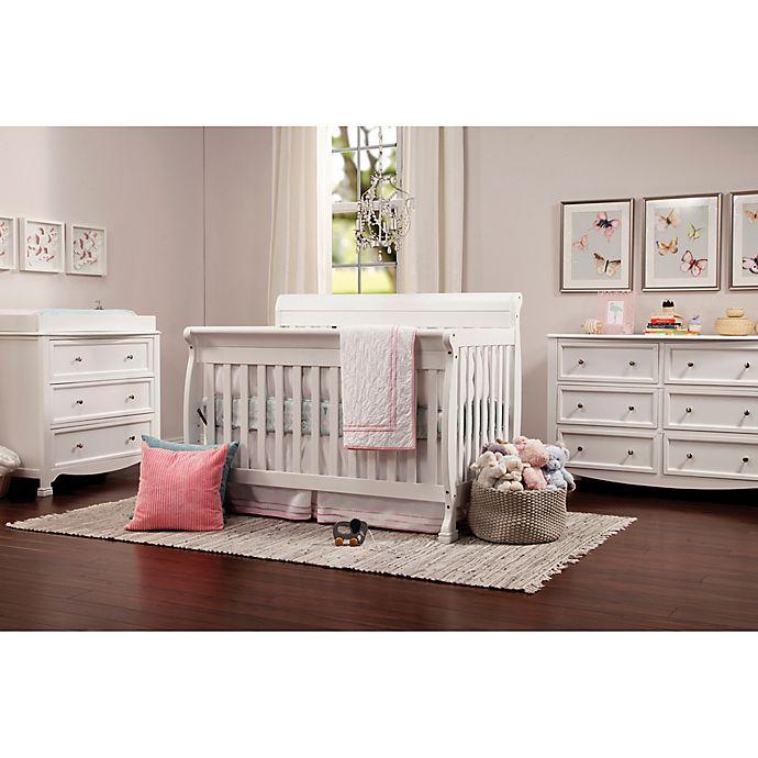 DaVinci Kalani Nursery Furniture Collection in White | Bed Bath .