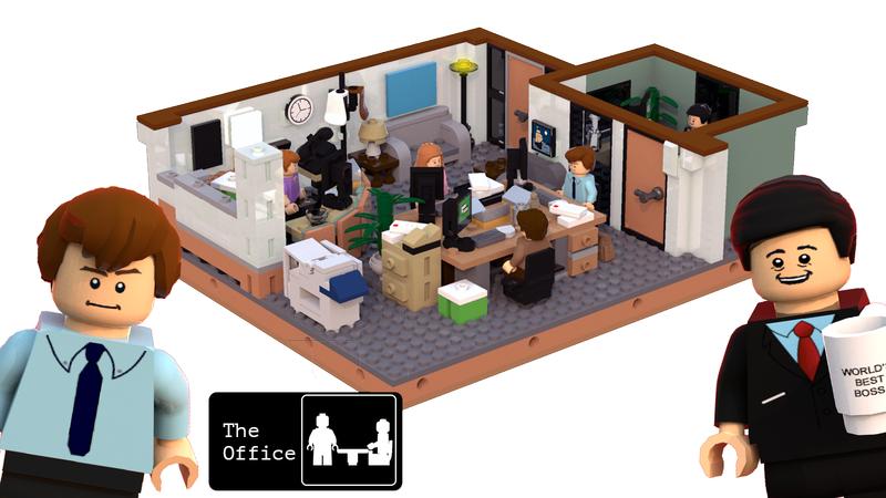 LEGO IDEAS - The Office US: Dunder Miffl