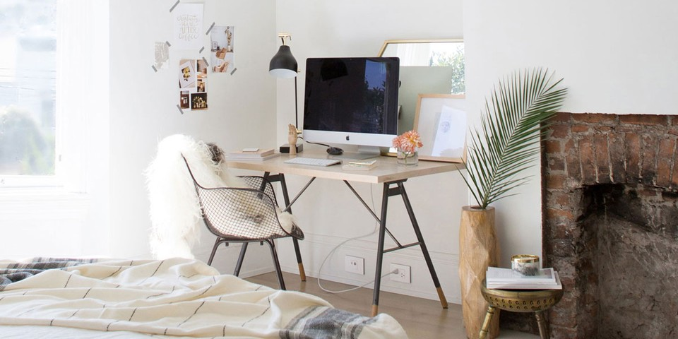 How to Set Up a Home Office in a Small Apartment | HYPEB