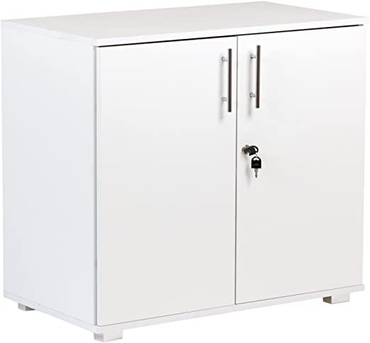 Amazon.com: Storage Cabinet Filing Cupboard and Desktop Extension .