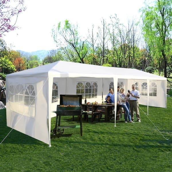 Shop Costway 10'x30' Party Wedding Outdoor Patio Tent Canopy Heavy .