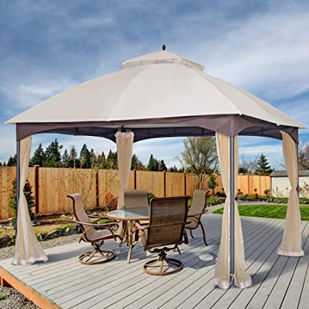Amazon.com : AsterOutdoor 10x12 Outdoor Gazebo for Patios Canopy .
