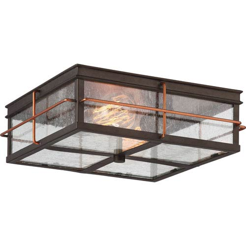 Nuvo Lighting Howell Bronze With Copper Accents Two Light Outdoor .