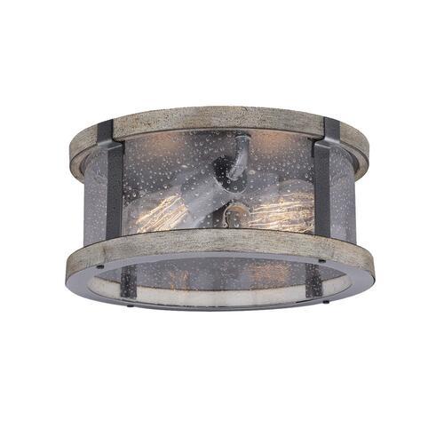 Patriot Lighting® Elegant Home Brooklyn Natural Iron & Distressed .