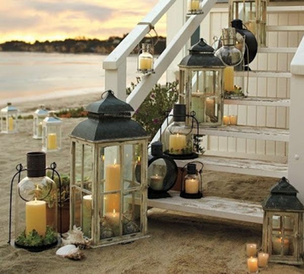 10 Lantern Ideas We Adore! - B. Lovely Events | Outdoor lanterns .